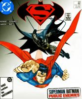 superman batman kubert bros by namorsubmariner