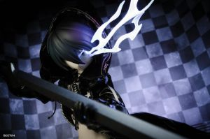 The Black Blade~ by xIGetUm