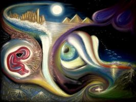 Starry Wombscapes (in pastel) by 1nf1n1te1