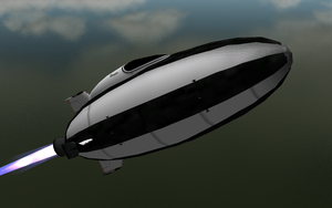 Bumper spaceship reflections by caboose11l2