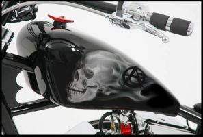Sons of Anarchy Chopper Tank by HBsuperman