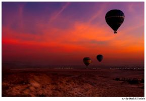 Over The Valley Of The Kings by marksda1