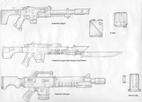 Imperial Weapons Sketches 2 by carlos1170
