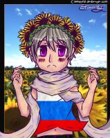 A Flower Crown for Russia by CipeHeheLOL