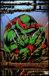 TMNT Raphael (Colors) by villithorne