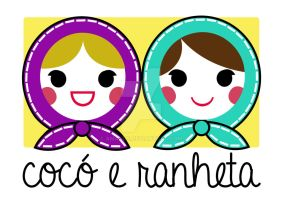 Logo Coco e Ranheta by amands