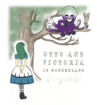 Otto and Victoria in Wonderland by ms-oblivious