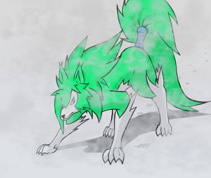 7D7Gemsona Day 5 Animal form by XDeadDragonX98