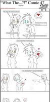 'What The' Comic 47 by TomBoy-Comics