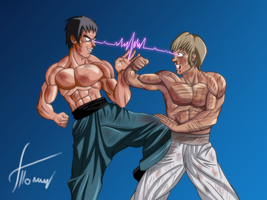 xD Clash Of The Titans by Ninja-Master-Tommy
