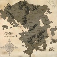 Gana - The Jincilla Empire (Map) by Ulario