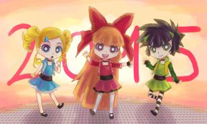 Powerpuff 2015 by Ami-Magane