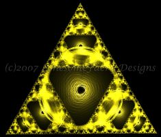 Triforce by LonesomeFaery