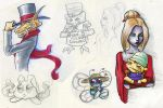 Pokemon Crossing Doodles by Neriah