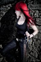 Bassist and her Castle II by SirK13