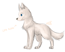 look its a doggie by Kitzophrenic