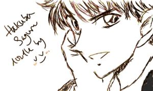 Hakuba Sketch by vv-amarantine