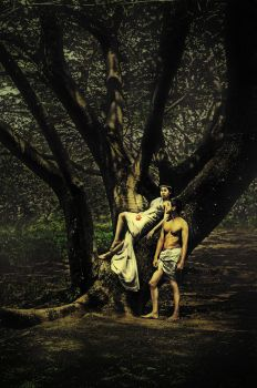 Adam And Eve 01 by Juanmayo