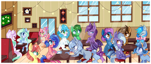 Friend Cafe by Ipun