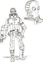 Metal Gear Solid: Gasman by TheZombieHunter