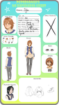 AD/MCL Oc reference sheet by HyoChii