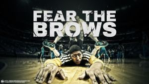 Anthony Davis Fear the Brows wallpaper by michaelherradura