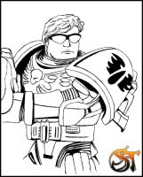 Space Marine WH 40K by SpiderTech