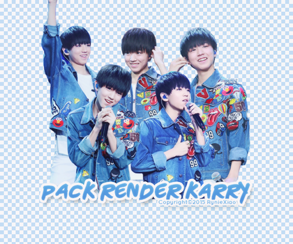 [150821] PACK RENDER KARRY WANG - TFBOYS by RynieXiao
