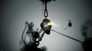 chained stone heart by TRL-phorce