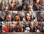 12 Candice Swanepoel Icons by 4mira