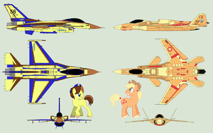 AppleJack vs Falcon 2.0 by Zhanrae30