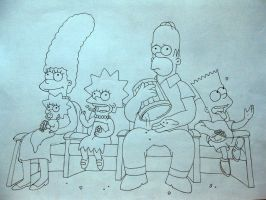 The Simpsons by RongLee2