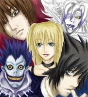 Death Note by ameldaluver