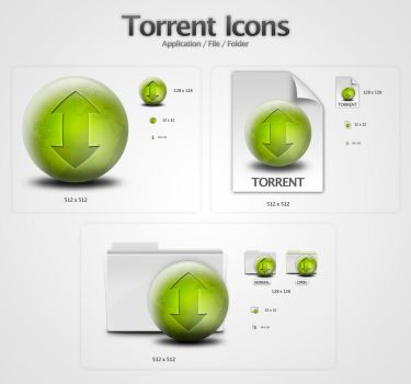 Torrent Icons by wurstgott