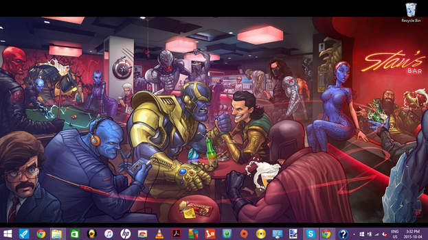 New Wallpaper (And It's Epic) by JuliaPie