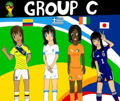 Worldcup Brazil 2014 Group C by SILENTWARRIOR3800