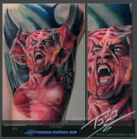 Darkness-legend-portrait-by-Todo-ABT-Tattoo by TodoArtist