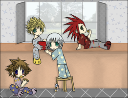 KH2: Cookie Thieves by Mergic-and-Tor