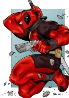 deadpool color by Soso01