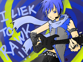 I liek to RAWK by ItaLuv