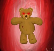 Mr.Cuddles at night by zijad96