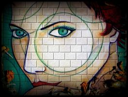 berry wall green eyes looking by santosam81