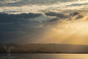 Bahia Salinas Sunrise by CBasco