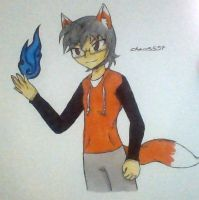 Slyfoxhound sketch by Chaos55t