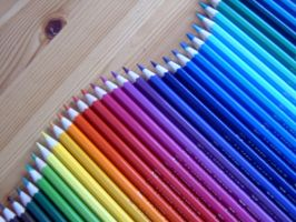 Coloured Pencils by Kunzai