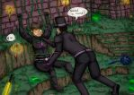 TB and Jesse Cox in Terraria - Need a hand by panicoftheundead