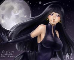 Byakugan Hime by shelly-14