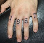 1987 by UngarTattoo