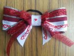 Doll Face Love Valentine Bow by ammotc