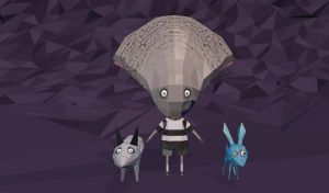 Frankenweenie and Oysterboy and Blue by LauraFMeis
